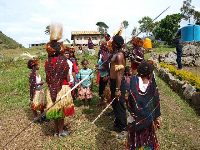 Papua New Guinea - Local tribe