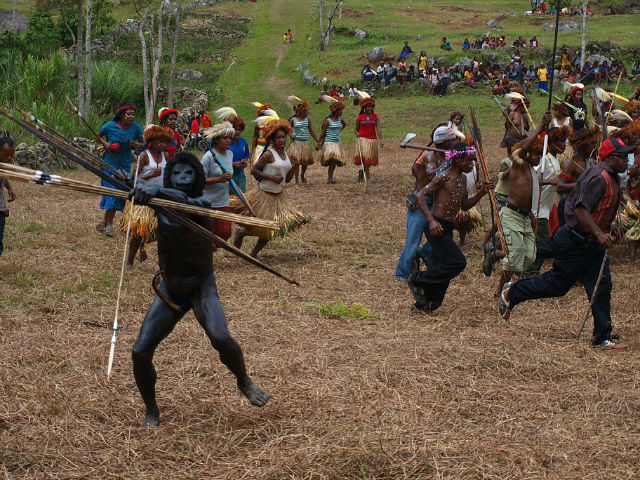 Papua New Guinea - Separate community