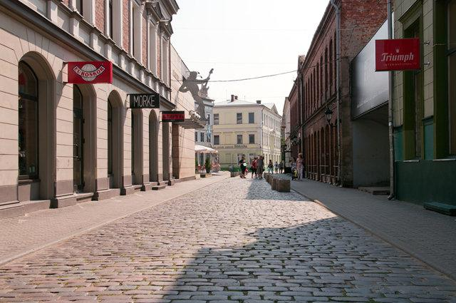Liepaja - Street of the city