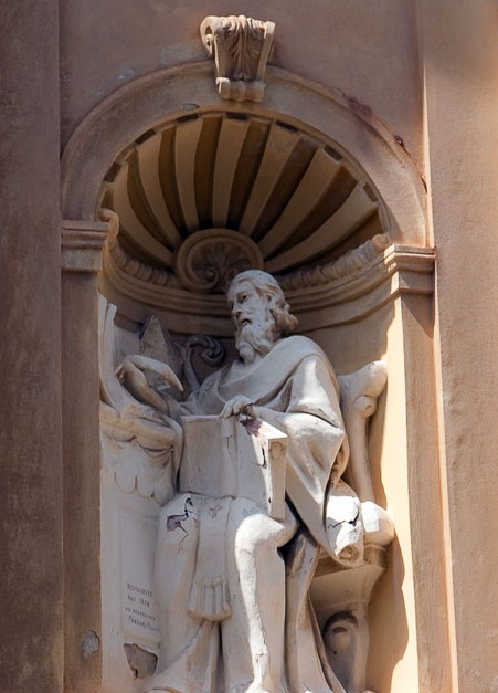 Tropea -  The bust of the philosopher Galluppi Pasquale