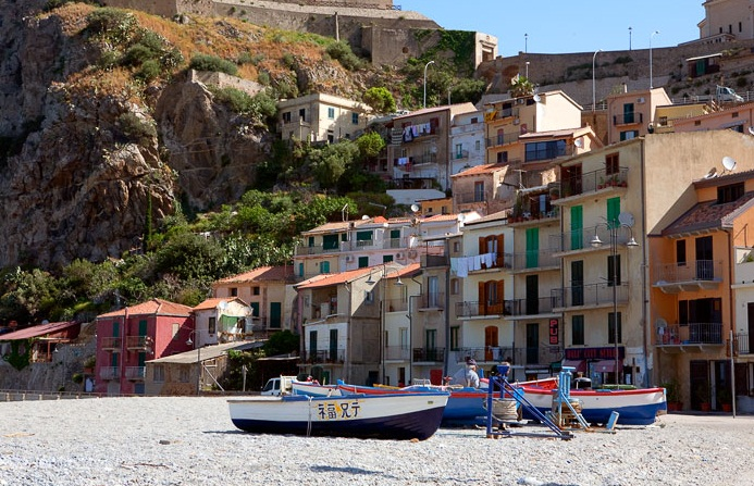 Scilla - The historical center of San Giorgio