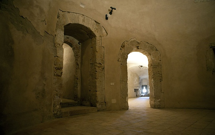 Croton - Interior of the castle