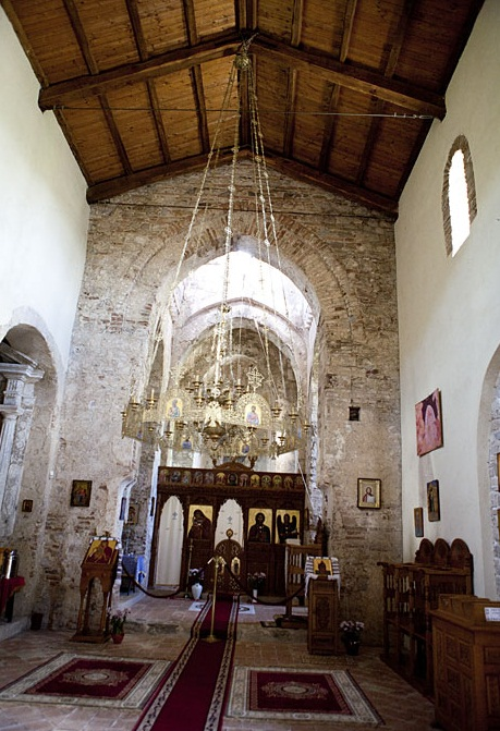 Bivongi - Interior of the Monastery
