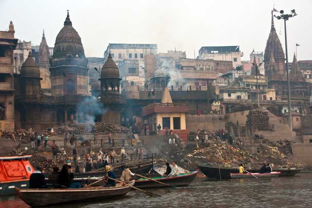 Varanasi -  The City of Life and Death - Cremation