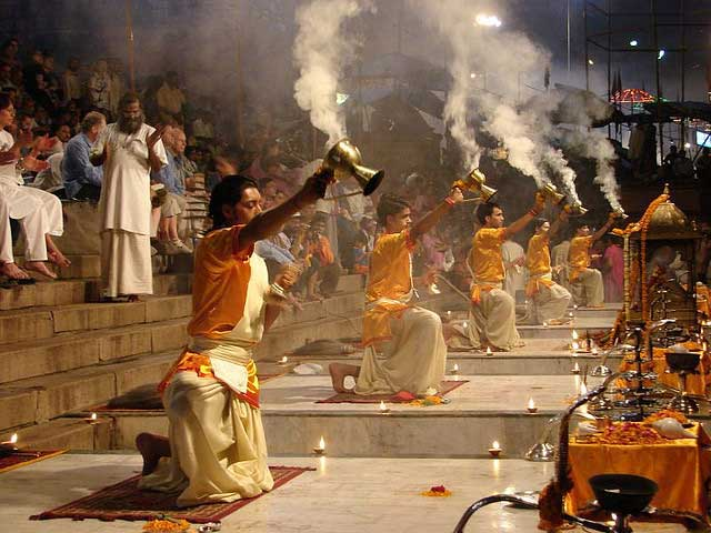 Varanasi -  The City of Life and Death - Ganga Arati