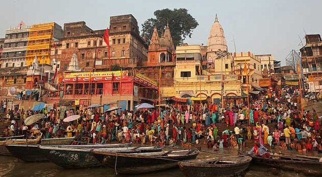 Varanasi -  The City of Life and Death - Holy place
