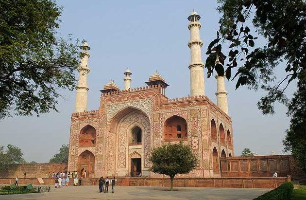 Agra - An Architectural Marvel of India - The tomb of Akbar the Great
