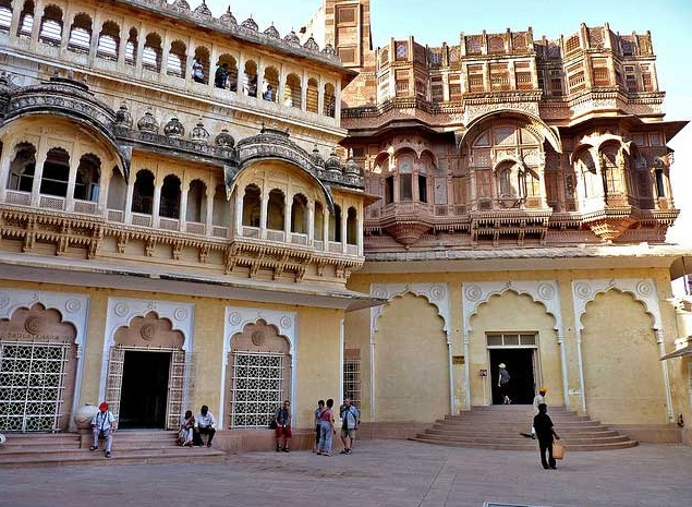 Jodhpur -  The Blue City of India  - Medieval attraction