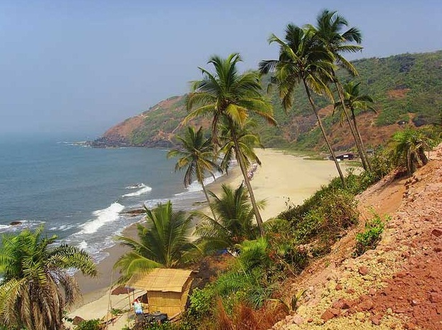Goa - The Realm of White Beaches  - The Arambol Beach