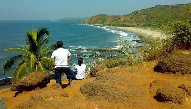 Goa - The Realm of White Beaches  - The Vagator Beach