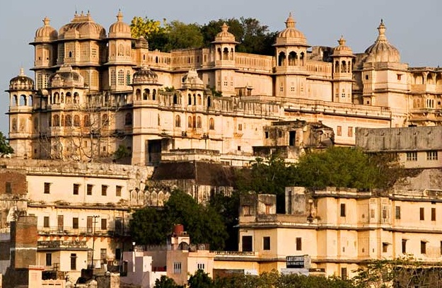 Udaipur - Venice of the East  - The City Palace