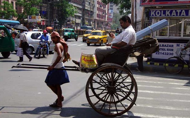 Calcutta - A beautiful city of India  - Means of transport