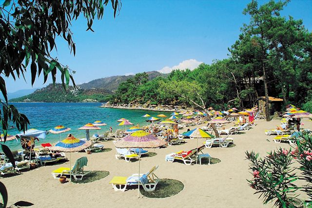 Marmaris in Turkey - Great beaches in Marmaris