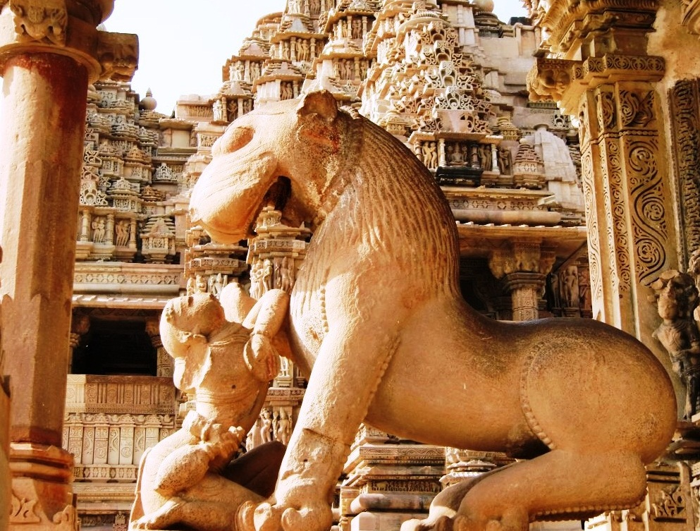 Khajuraho - the origin of Kama Sutra - Hindu Temple