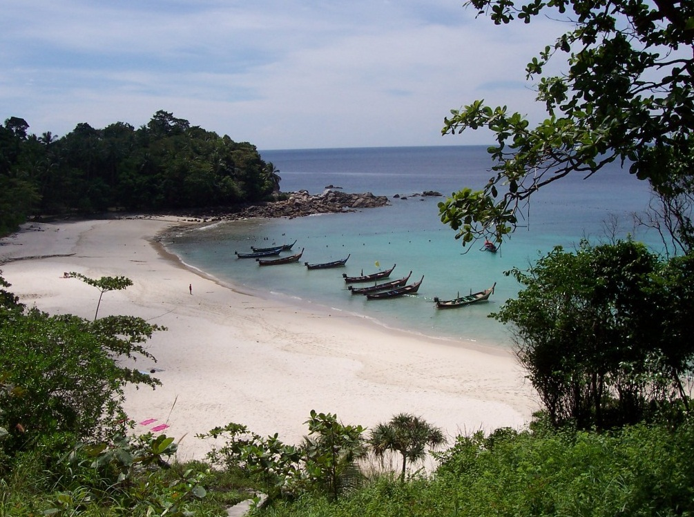 Phi Phi Island -  the Pearl of Thailand  - The pearl of the Andaman sea