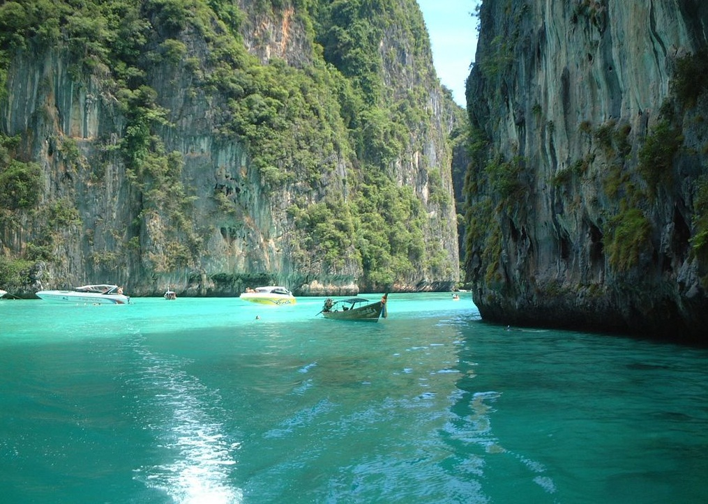 James Bond Island -  a popular attraction in Thailand  - Amazing cliffs