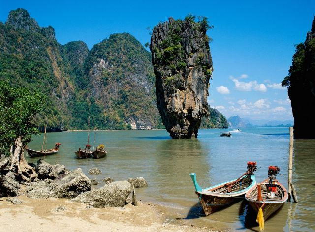 Phang Nga Bay - Spectacular  Place in Thailand - Stunning landscape