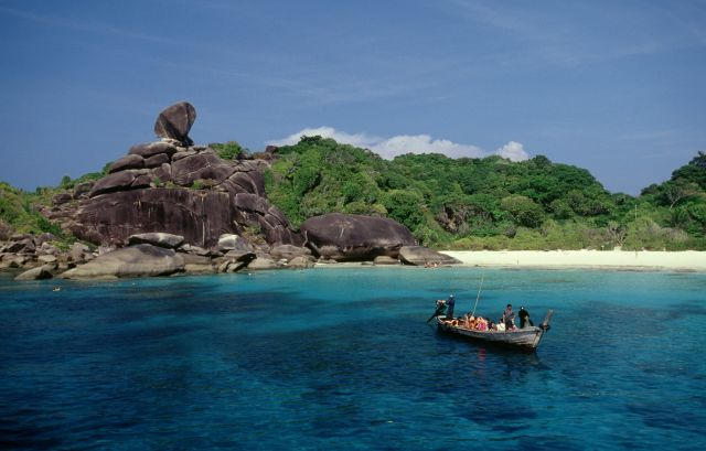 Similan Islands - Magnificent panorama of the island