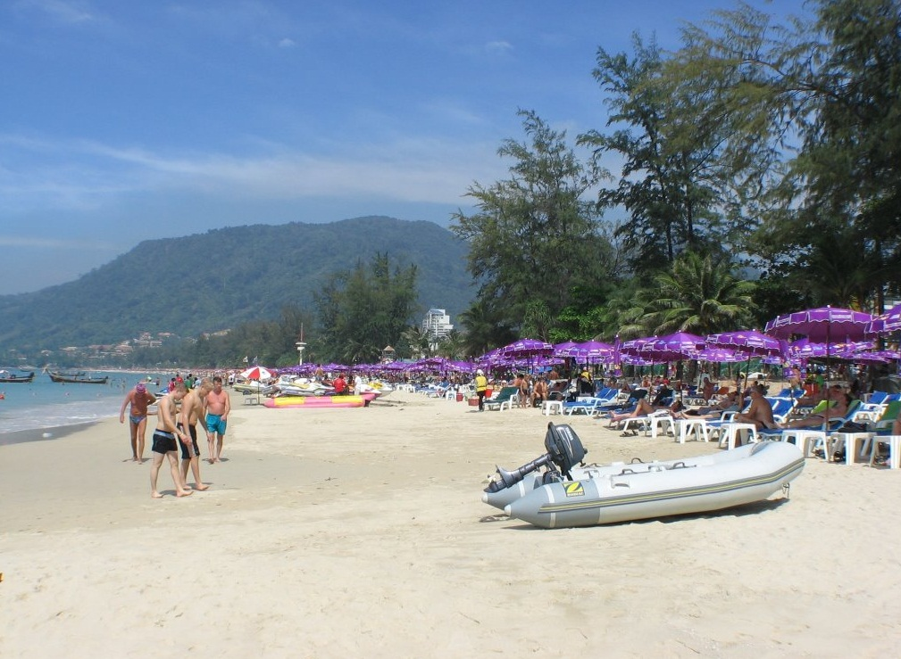 The Patong Beach - Tropical paradise