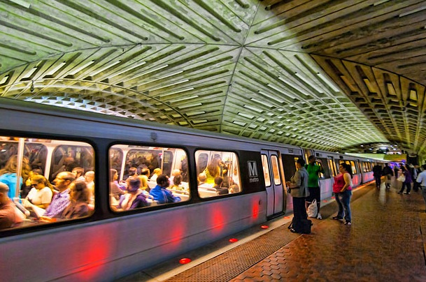 Center Metro Station , Washington DC - Exceptional Subway Station