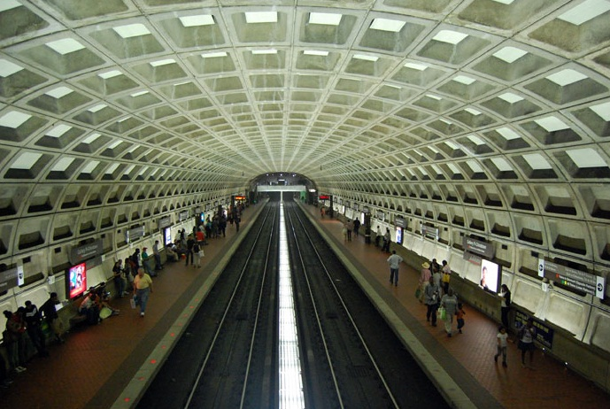 Center Metro Station , Washington DC - Major Metro of the World