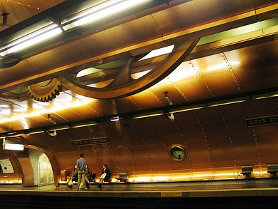 Arts et Métiers Station,  Paris, France - Fabulous Underground