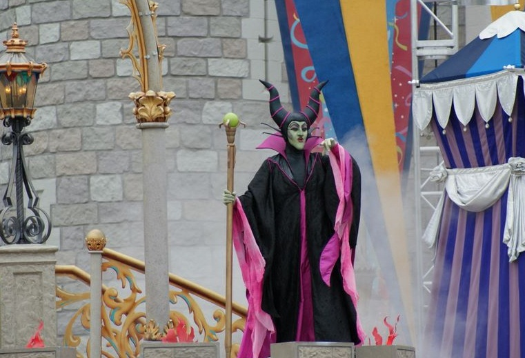 Disneyland in Orlando - The evil queen from the kingdom of evil