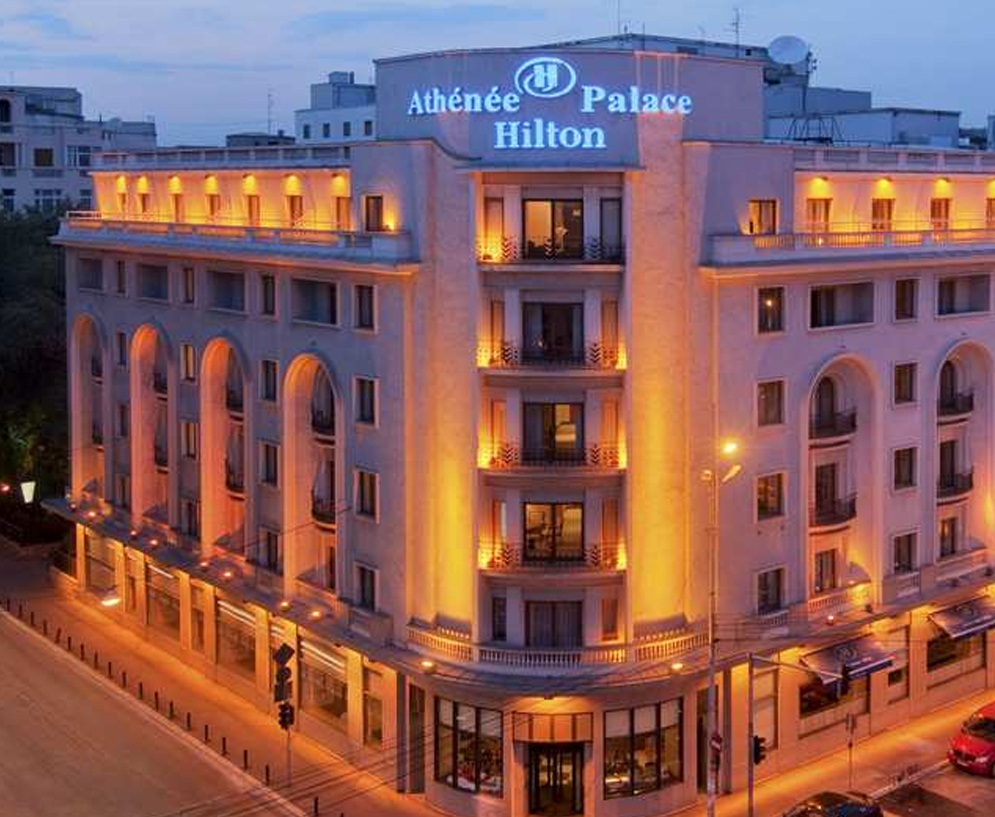 Athenee Palace Hilton Hotel - Bright luxurious hotel images