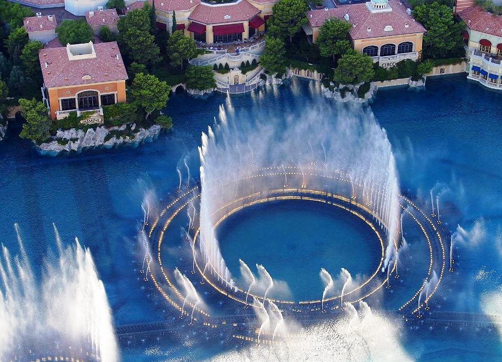 Bellagio Fountains - The ingenuity of designers