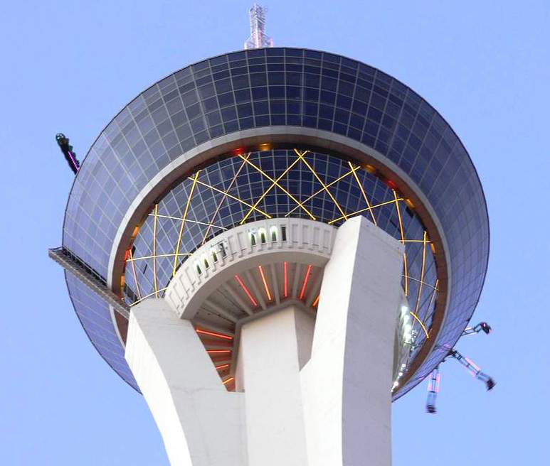 Stratosphere Tower - One of the best thrill rides in the world