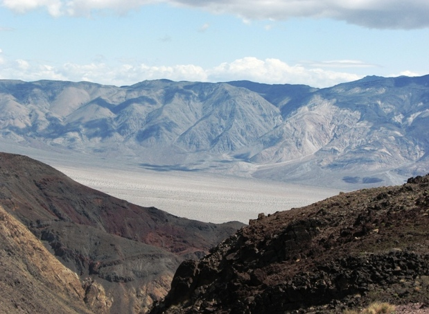 Death Valley National Park - Emaciated lands