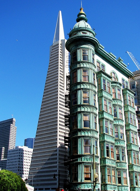 San Francisco, California, USA - The Tower of Columbus