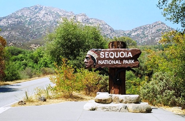 Sequoia National Park - Attractive mountain scenery