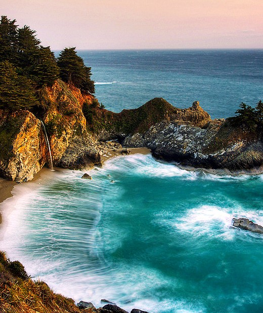 Julia Pfeiffer Big Sur State Park - Attractive place