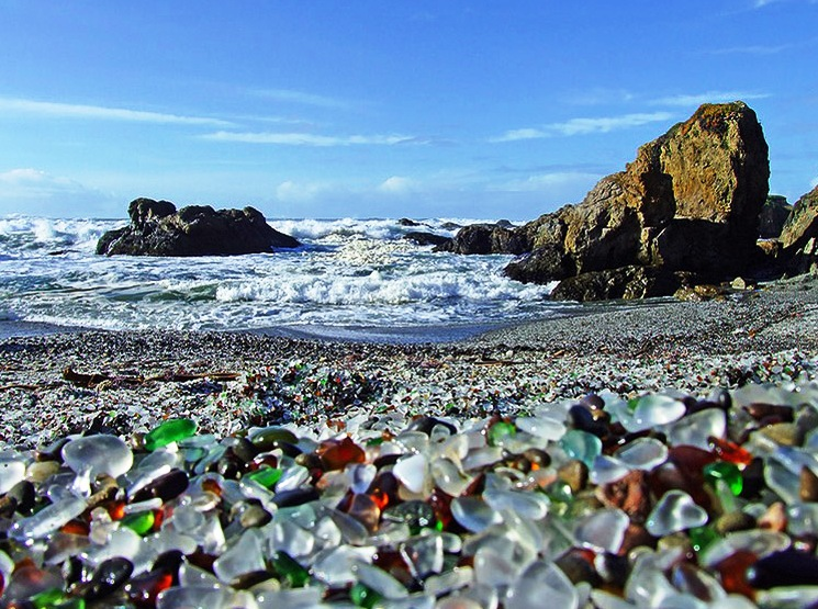 Glass Beach, Fort Bragg - Popular beach