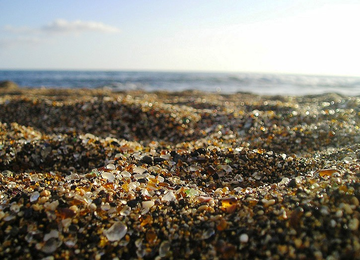 Glass Beach, Fort Bragg - Unusual beach