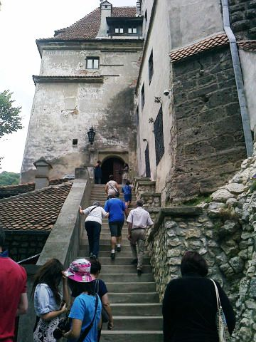 The Bran Castle - Crowded place