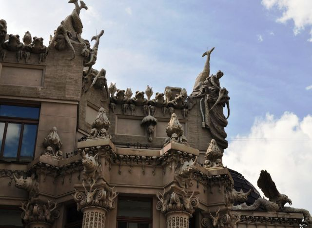 House with Chimaeras - The most weird place in Kiev