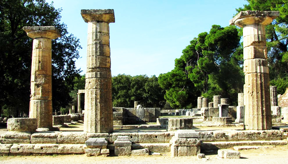 Olympia - The Temple of Hera