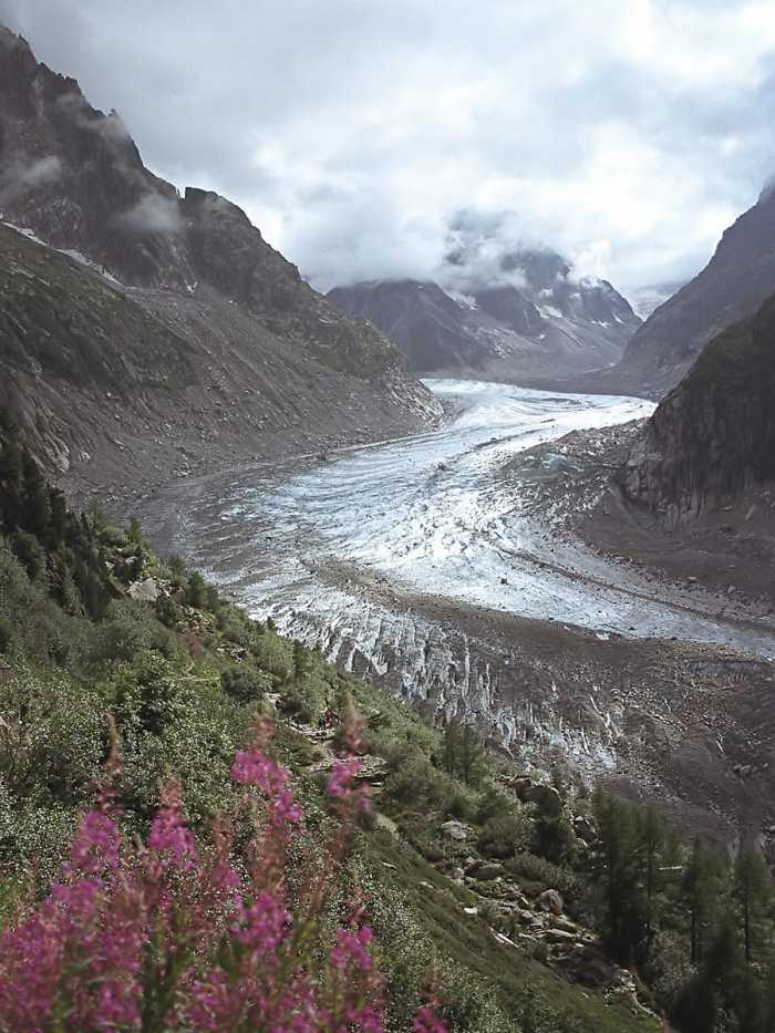 Mer de Glace, France - Unusual landscape
