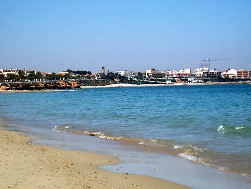 Santiago de la Ribera, Spain - Beach