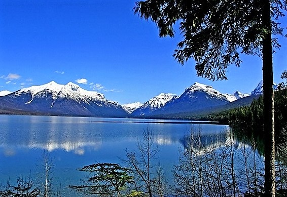 Glacier National Park, U.S.A - Beautiful lake