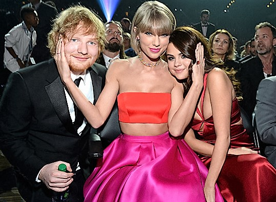 Taylor Swift - With Ed Sheeran and Selena  Gomez