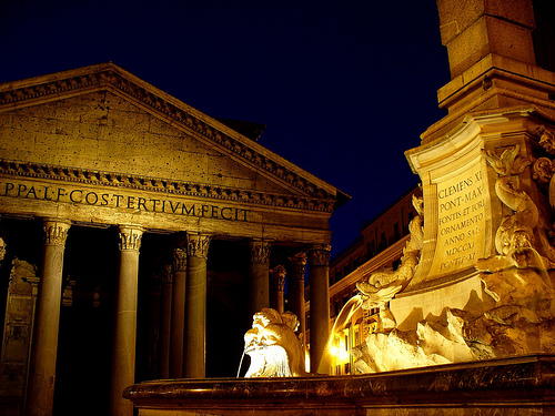 Pantheon - Beautiful architecture