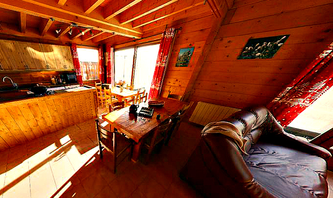 Chalet Le Ponton, French Alps - Wooden Interior