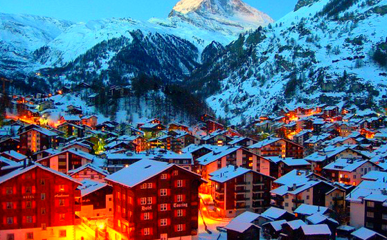 Zermatt,Switzerland - Famous destination