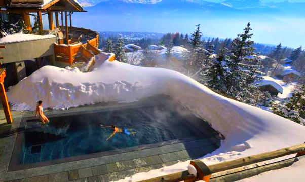LeCrans Hotel & Spa, Switzerland - Private swimming pool