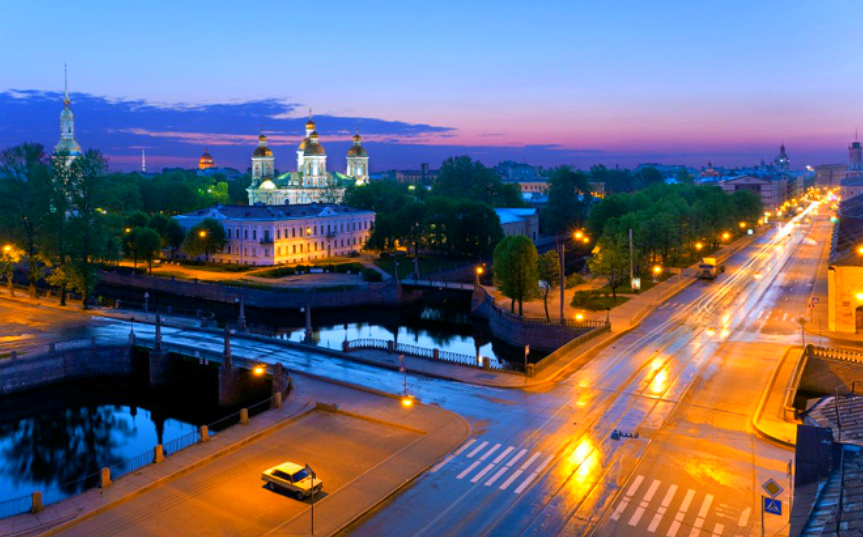 Seven Bridges (Semimostye) - One of the most beautiful places in St. Petersburg