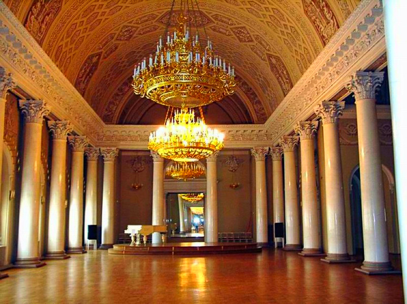 The Yusupov Palace - Banquet hall