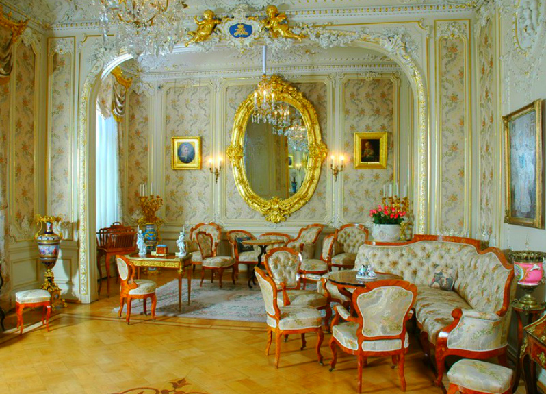 The Yusupov Palace - Fantastic furniture